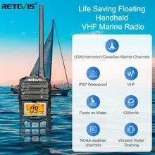 Портативная рация RETEVIS RT55, водонепроницаемая, двухсторонняя, 5 Вт