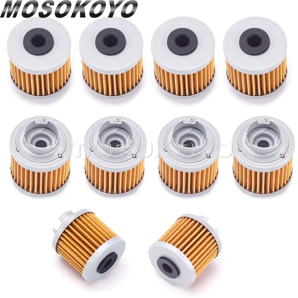 Масляный фильтр для YX 150/160 Zongshen ZS190 Pitster Pro 190 2V Lifan 150, 10 шт., масляный очиститель для двигателя Piranha 190/150 Daytona