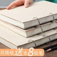 Esboço do Livro do Esboço Conversível de Papel Caderno De desenho de Papel página Interna
