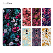 Uyellow Flower Silicone Soft Case For One Plus 7 Pro 6 6T 5 5T Fashion Fundas Printed Cover Luxury Phone Coque TPU Shell Capa uyellow star wars watercolor soft tpu case for one plus 7 pro 6 6t 5 5t fashion fundas printed cover silicone luxury phone coque