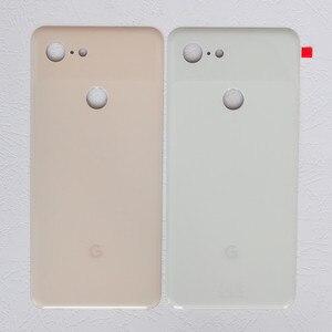 Image 2 - Pixel3 XL バックカバー Google のピクセル 3 XL 6.3 インチオリジナル住宅後部ドア修理交換用バッテリーケース