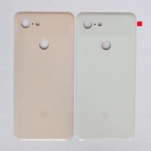 Image 2 - Задняя крышка Pixel3 XL для Google Pixel 3 XL, 6,3 дюймов, оригинальный корпус, задняя крышка, ремонт, замена, чехол для аккумулятора