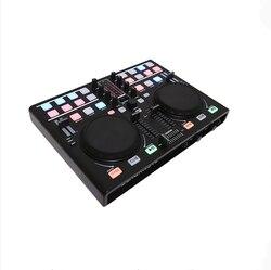 Контроллер для миксера BLACKNOTE DJ, миксер для дисковых проигрывателей, миксер для компьютера, Миксер для звука, миксер
