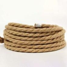 3*075 винтажный текстильный трос витой кабель плетеный Электрический