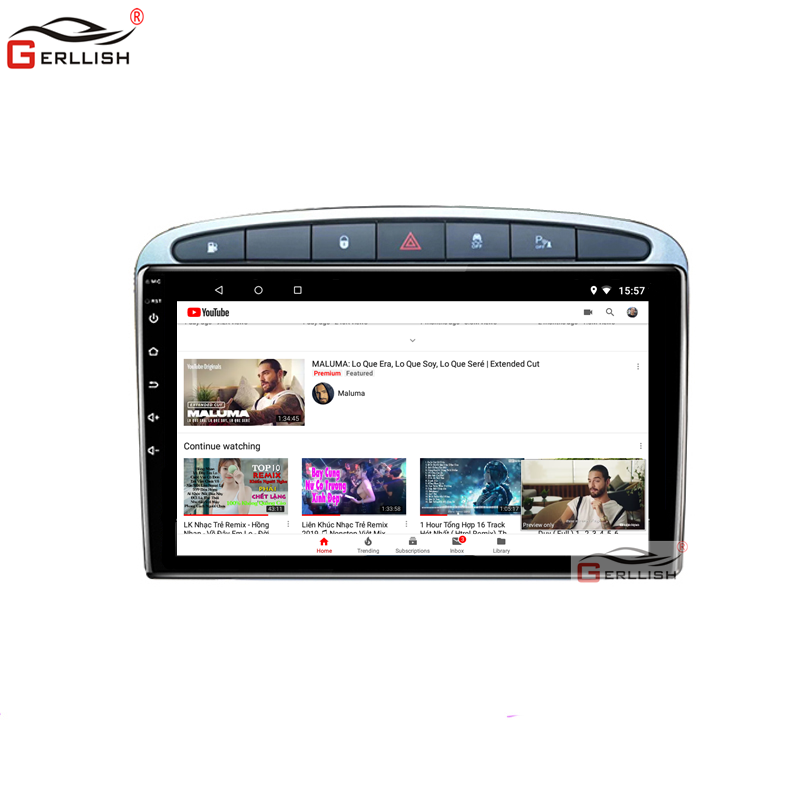 Android 8.1 Car DVD Player GPS Navi For Peugeot 408 For Peugeot 308 308SW Audio Radius Main Unit