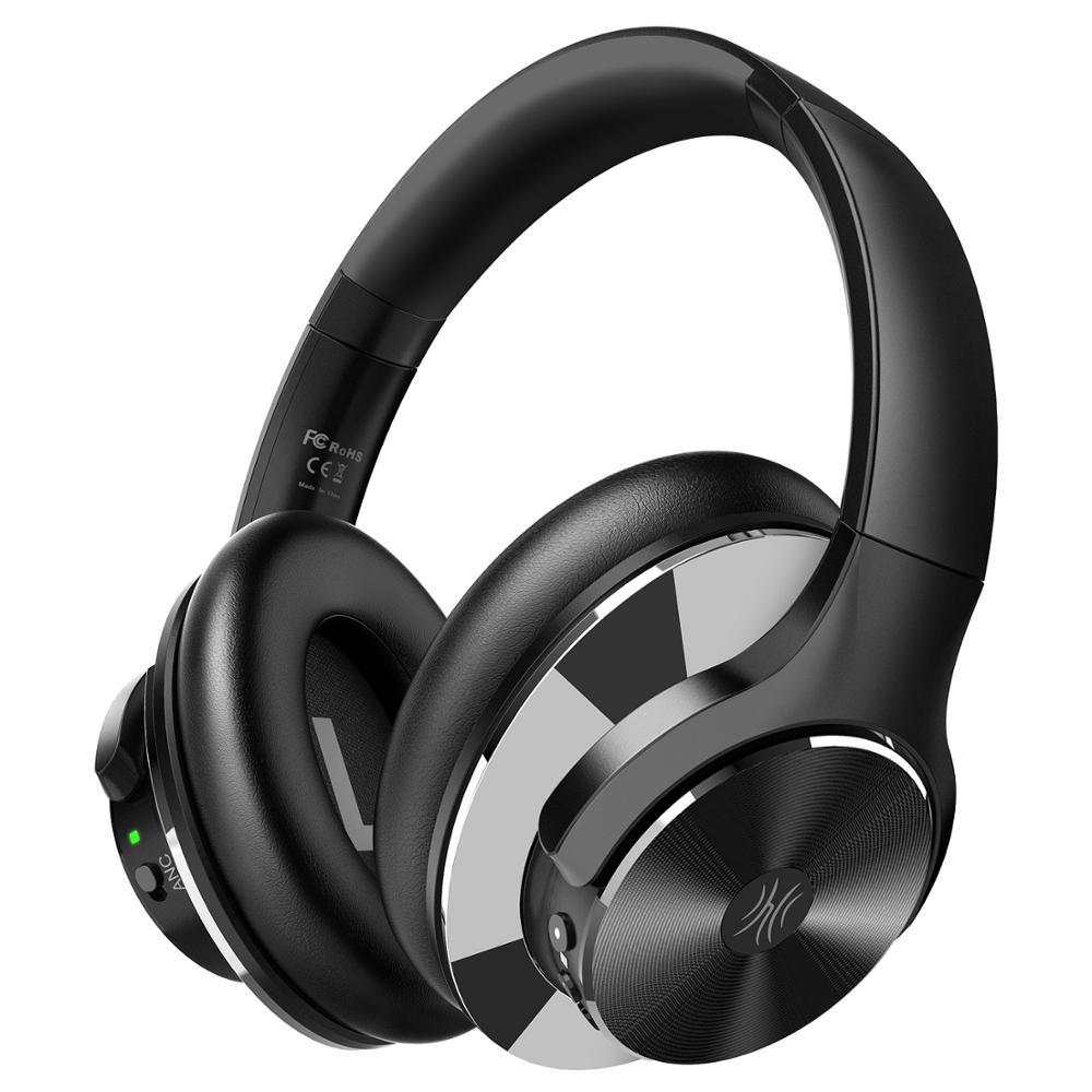 OneOdio Original A10 avancé actif suppression du bruit casque Bluetooth avec des basses Super profondes Charge rapide 40H pour le temps de jeu