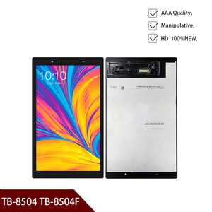 For Lenovo Tab 4 TB-8504 TB-8504F TB-8504N TB-8504X TB-8504P LCD Display Touch Screen Glass Sensor Assembly Free Shipping