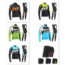 NW2020 bike uniform  cycling clothing triathlon skinsuit winter mountain clothes SKY jersey set