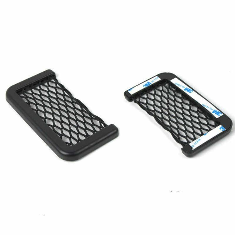 Dla Lexus RX RX330 RX350 RX400h siatkowy schowek do samochodu uchwyt do telefonu przechowywanie organizer kieszeniowy siatka bagażnika uchwyt z siatki układanie Tidying