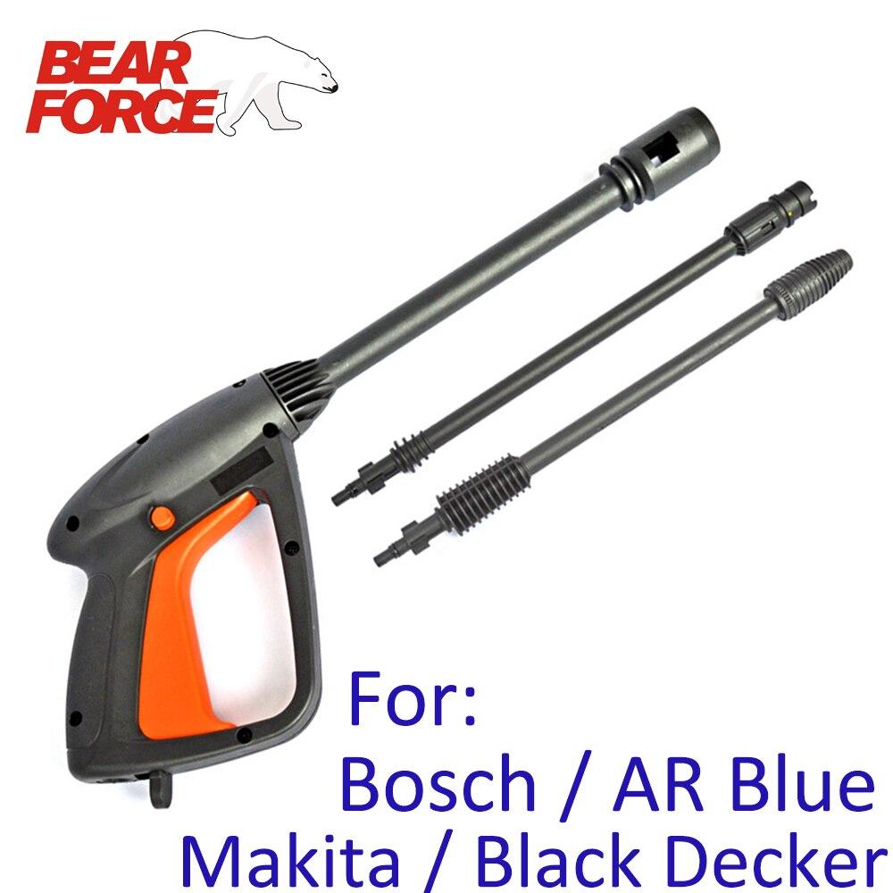 High Pressure Washer Spray Gun Jet Lance Nozzle Car Washer Jet Water Gun Spear Wand For Bosch Black Decker AR Blue Clean Makita