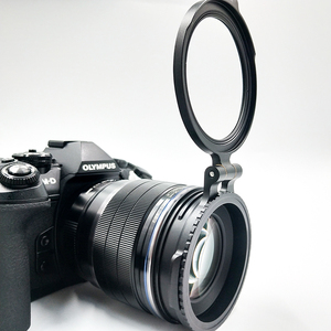 Image 1 - ND Filter Switching Bracket Quick Release Mount for Camera Nikon Sony Fuji DSLR Camera Lens Adapter Flip 58/67/72/77/82mm