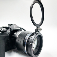 ND фильтр переключателя кронштейн быстрого крепления для камеры Nikon Sony Fuji DSLR камеры адаптер объектива флип 58/67/72/77/82 мм