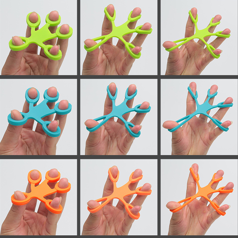 Toys Finger-Puller Fidget Gifts Antistress Adult Children Hand-Ring Silica-Gel for Squish img5