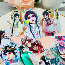 24pcs Drama character stickers decorative stickers DIY handmade photo album