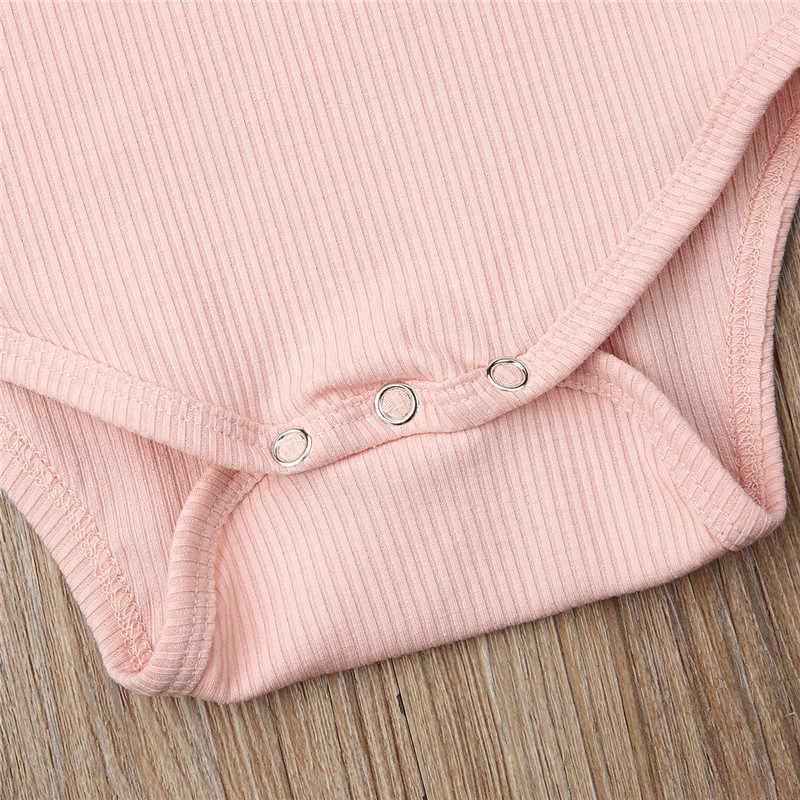 Śliczne noworodka Baby Boy dziewczyny z długim rękawem Ruffles pajacyki Unisex bawełna Body dla dzieci + pałąk ubrania dla dzieci Bebe trykot Body topy