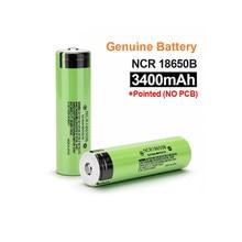 18650 akumulator litowy nowy 100% oryginalny NCR18650B 3.7v 3400mah 18650 battey do baterii latarki (bez PCB)