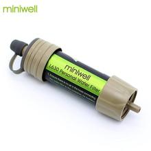 Filtro de água ao ar livre sistema de ultrafiltração de fibra oca para acampamento caminhadas e engrenagem de sobrevivência de emergência