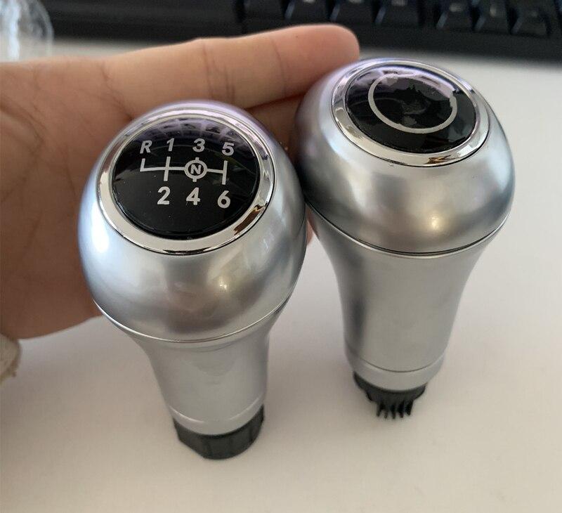 1 металлическая ручка переключения передач для интерьера, аксессуары, шариковые эмблемы для Mercedes Benz C/E/GLK W202 W203 W204 C180K C200 E260