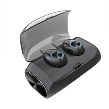 V6 Tws Portable Mini Wireless Bluetooth V5.0 In-Ear Headphones Stereo Earbuds With Charging Box Microphone