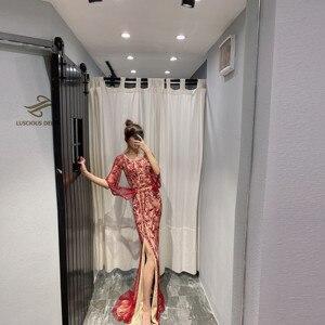 Image 3 - ダイヤモンドビーズノースリーブマーメイドフォーマルドレス2020新ドバイevenningドレス
