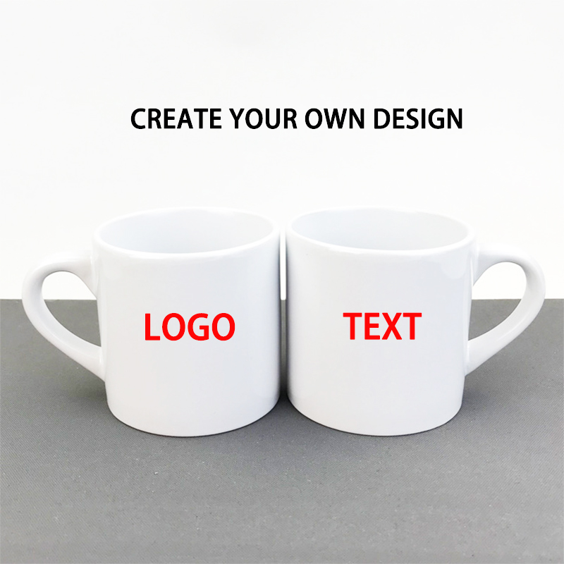 Taza de café de cerámica personalizada, impresión de su logotipo, texto, nombre, regalo de