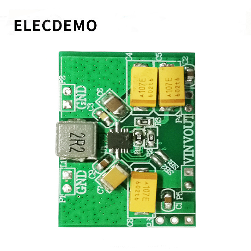 TPS63020module Automatic Buck Boost Power Module Board 2.5v 3.3v 4.2v 5v Lithium Battery Low Ripple function demo board-in Demo Board Accessories from Computer & Office