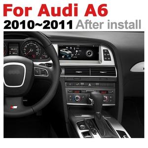 Image 4 - Auto Android Multimedia player Für Audi A6 4F 2010 ~ 2011 MMI 2G MMI 3G GPS Navi Karte stereo Bluetooth Ips bildschirm RAM 4G ROM 32G