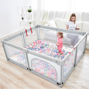 Baby Playpen Baby Fence Children Play Yard Kids Ball Pool Toddler Indoor Playground for Newborn with Free Gifts Play Tent
