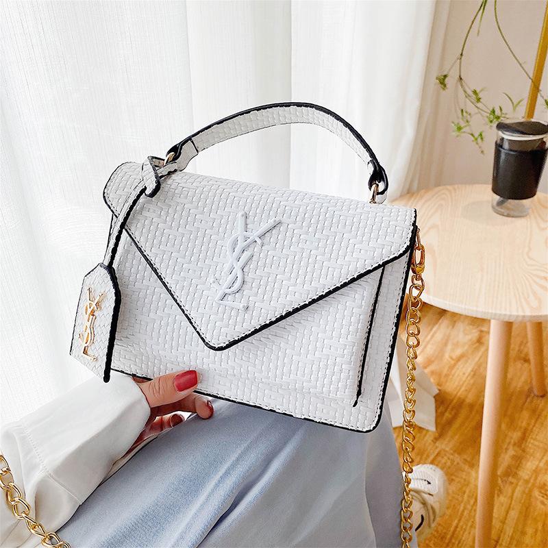 Single Shoulder Messenger Flap Bags Ladies Fashionable Purses and Handbags