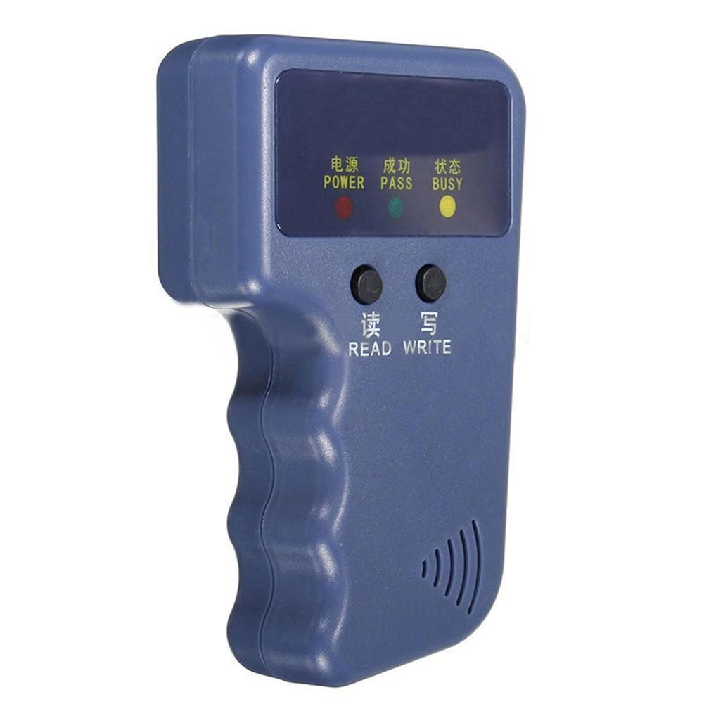 NEW 125Khz Handheld RFID ID Card Copier/ Reader/Writer Duplicator Programmer6 Pcs Writable Tags+6 Pcs Cards