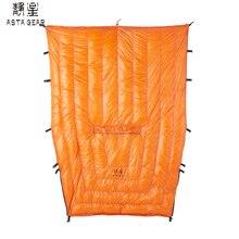 ASTAGEAR 20D Sleeping Quilts hammock Underquilt  95% White Duck Down Mummy Bag Blanket Mat