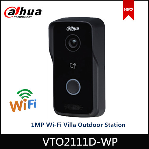 Dahua VTO2111D-WP 1MP Wi-Fi Villa Video Intercom Support Night Vision And Voice Indication APP Remote Doorbell English Version