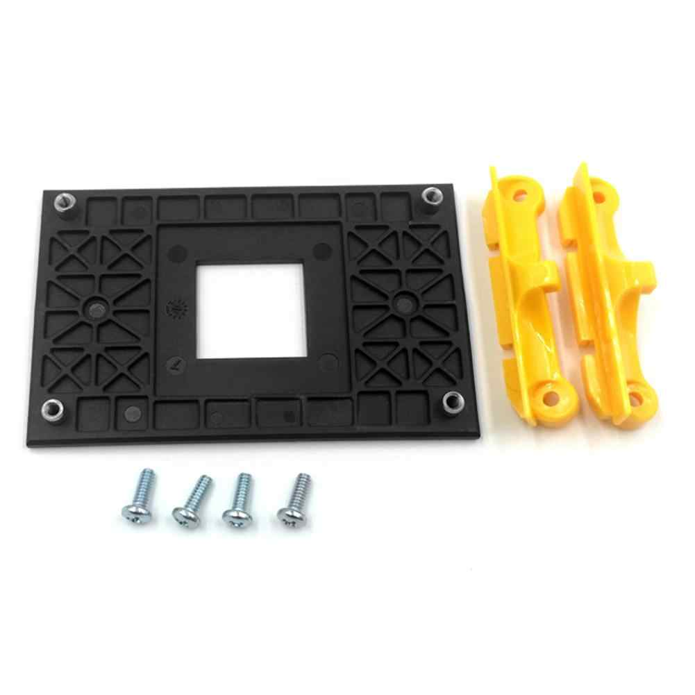 Heat Sink Mount Braket Belakang Piring Amds Ryzen Socket AM4 CPU Fan Cooler Heatsink Radiator
