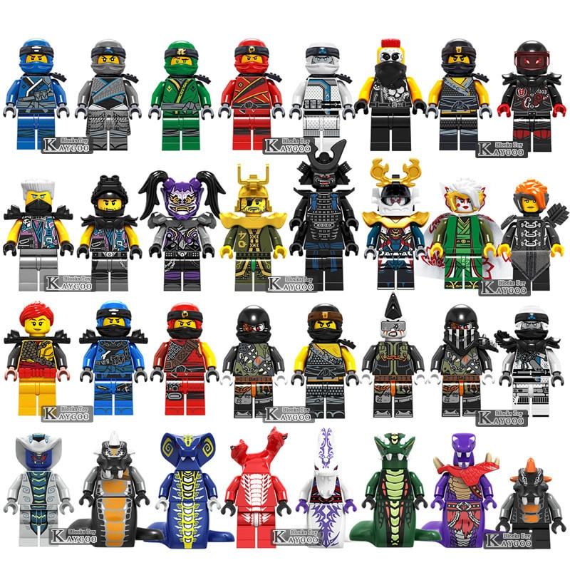 Hot Ninja Motorcycle Compatible LegoINGly Ninjagoed Ninja For Kids Gifts Carmadon  Zane Cole Kai Jay Building Blocks Bricks Toys