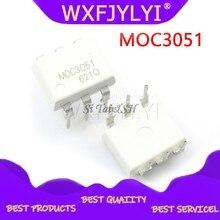 10 шт./лот MOC3051 MOC3052 MOC3061 MOC3062 MOC3063 MOC3081 MOC3082 MOC3083 MOC3033 MOC3031 DIP-6 новый оригинальный