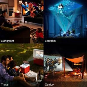 Image 5 - S6W DLP MINI Proiettore Carica WIFI Portatile 3D Full Hd Beamer per 1080P di Smart Mobile Home Cinema Theater Miracast airplay