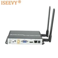 Iseeby WiFi H.265 H.264 IP SDI 디코더 SDI HDMI VGA CVBS 출력 지원 RTMP RTSP RTP UDP HTTP 네트워크 스트림 디코딩