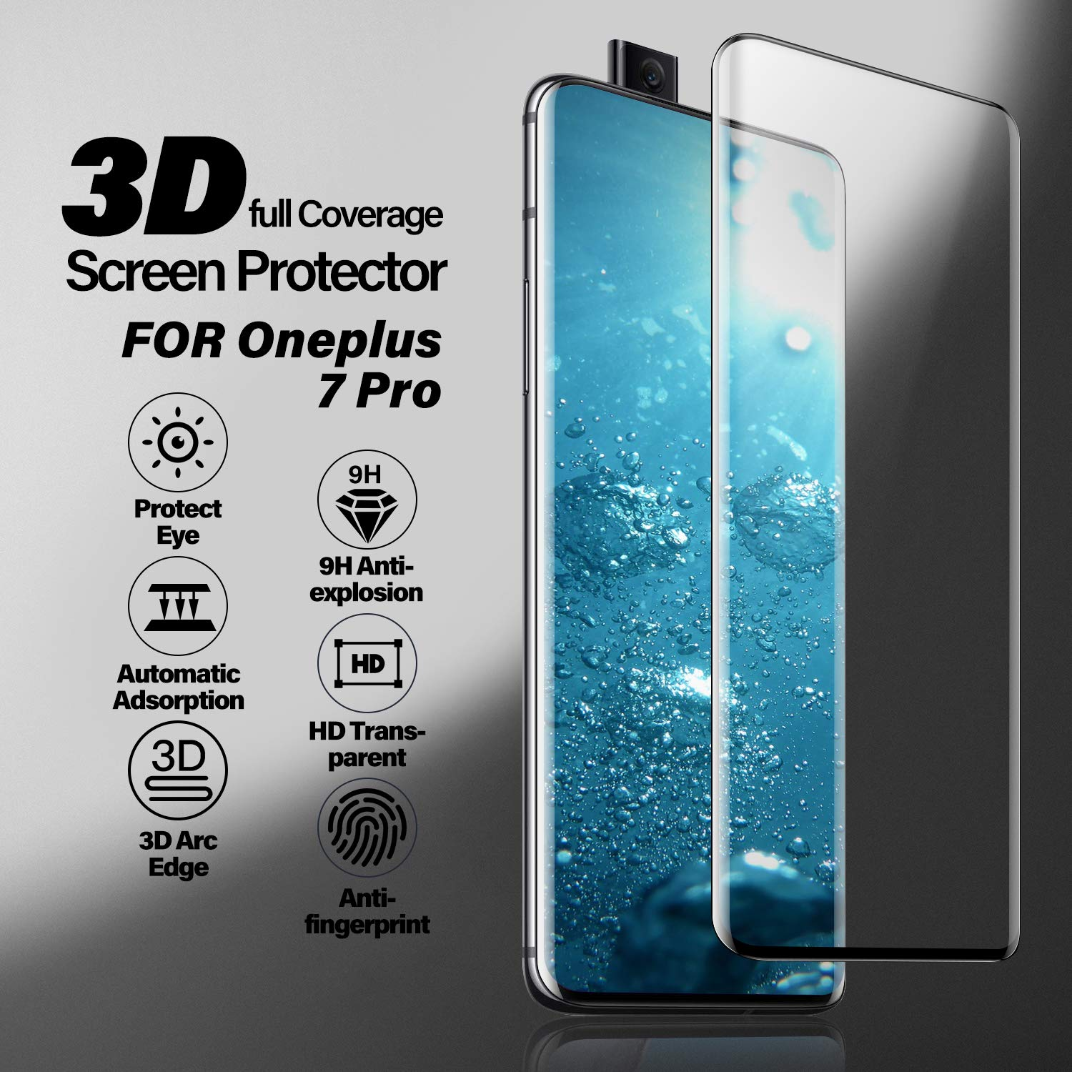 20D Full Cover Tempered Glass For Galaxy A51 SM-515F Screen Protector Protective Glass For Samsung Galaxy A71 SM-715F