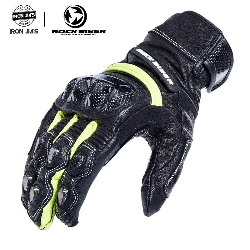 Hommes gants de moto écran tactile en Fiber de carbone unisexe anti-dérapant GP gants de course en cuir moto gants de protection offre spéciale
