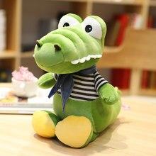 30-70cm kawaii crocodilo brinquedos de pelúcia macio dos desenhos animados animais de pelúcia boneca brinquedo para crianças presentes de aniversário do bebê