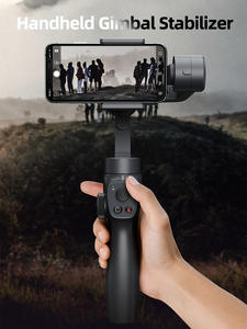 Baseus Handheld Gimbal Tripod Smartphone Huawei Bluetooth 3-Axis Wireless for Stabilizer