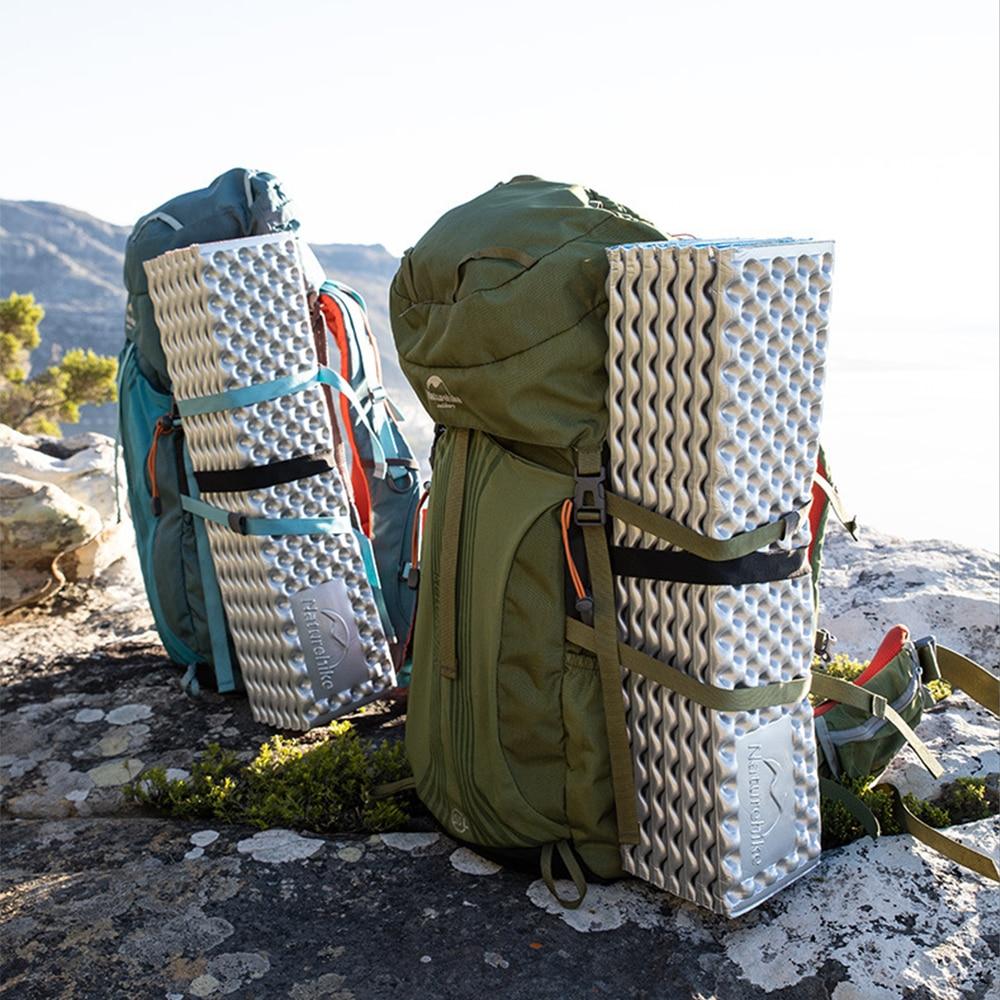 tapis de nid d oeuf ultra leger film en aluminium tapis de couchage etanche a l humidite en plein air pliable tapis de lit de couchage pour camping