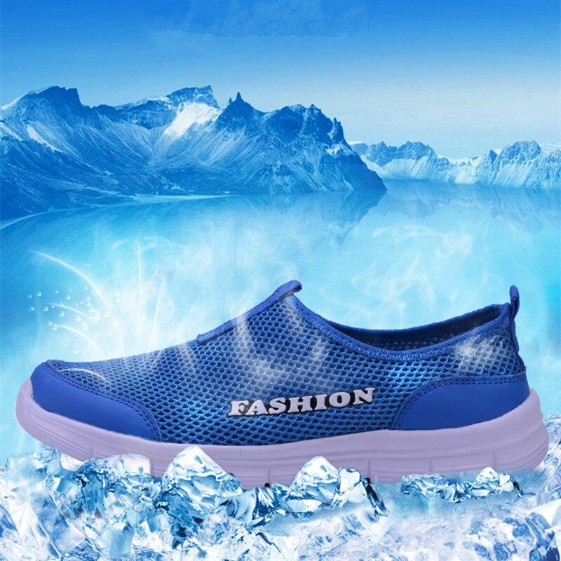 Breathable Mesh Casual Men Shoes Summer Sneakers Men Footwear Running Shoes Men's Lightweight Slip-on Sandals Zapatos De Hombre 4