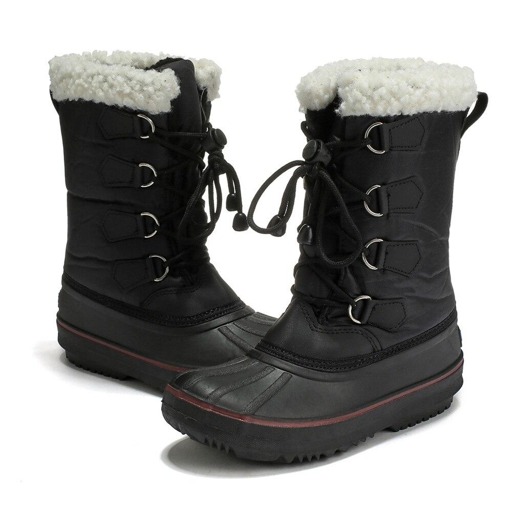 Skoex Kids Snow Boots Girls Winter Warm
