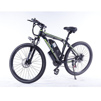 """C6 F Electric Bike E Bicycle 26""""/27.5""""/29"""" 4.0 inch Fat Tire ebike 750W/1000W 13AH Electric Mountain Bicycle with 1"""