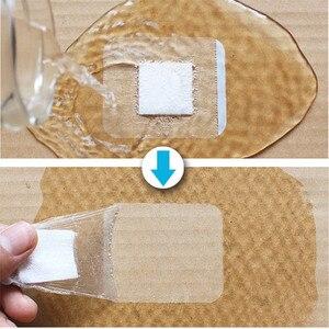 Image 3 - 10 adet 6x7cm 6x10cm su geçirmez yapışkanlı bandaj tıbbi yapışkan yara pansuman malzemesi bant yardım bandajı büyük yara ilk yardım açık