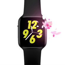 iwo 8 Plus 44mm Smart Watch Android ecg ppg Heart Rate Smart Relogio Inteligente Wristwatch Bluetooth Bracelect For IOS PK IWO 8 hot sale x100 smart watch android 5 1 os smartwatch mtk6580 3g sim gps watchs pk q1 pro iwo kw18 relogio inteligente for ios