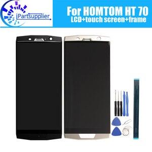 Image 1 - Homtom HT70 lcdディスプレイ + タッチスクリーンデジタイザ + フレームアセンブリ 100% オリジナルの新液晶 + タッチデジタイザーhomtom HT70 + ツール