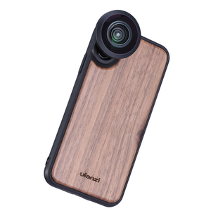 Image 3 - Ulanzi 16MM Wide Angle Lens 10X Macro Lens with Phone Case for iPhone X XS Max Anamorphic Lens Camera Phone Lens CPL Adapter
