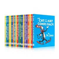 20 Books A Classic Case of Dr. Seuss Series Interesting Story Children's Picture English Books Kids Learning Toys